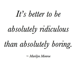 absolutely, quotes, and Marilyn Monroe image