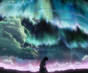 anime and sky image
