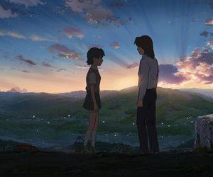 sky, shun, and hoshi o ou kodomo image