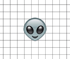 alien and grid image