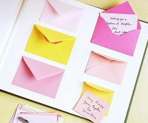 diy, envelope, and love image