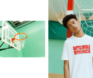Basketball, fashion, and reece king image