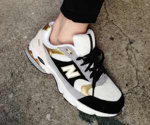 new balance, shoes, and pale image