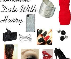 outfit, Harry Styles, and date image