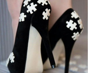 puzzle and shoes image
