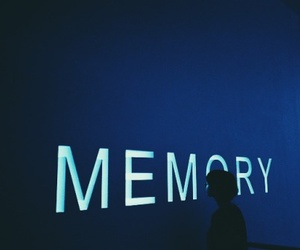 blue and memory image