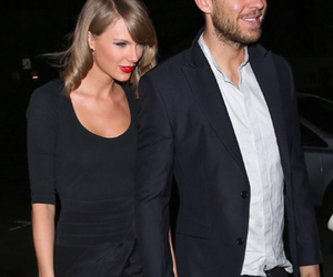 calvin harris and Taylor Swift image