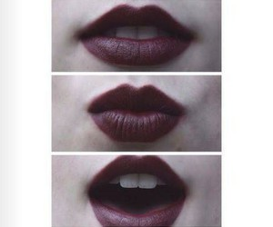 lips, mouth, and red lips image