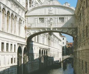 architecture, bridge of sighs, and hipster image