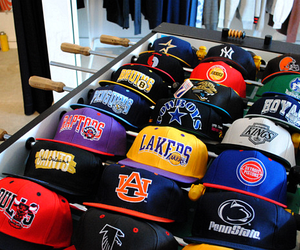 cap, swag, and lakers image