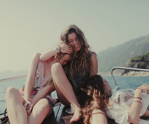 best friends, girl, and young image
