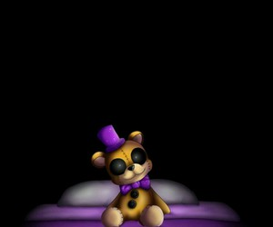 nightmare, plushy, and five nights at freddys image