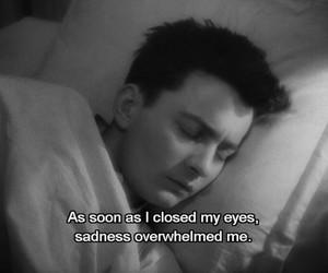 alone, dark, and depressed image