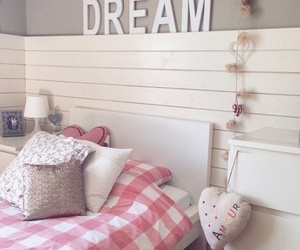 room, Dream, and pink image