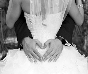 love, wedding, and couple image