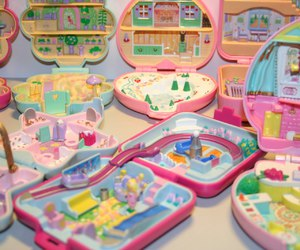 dolls house, magic, and polly pocket image