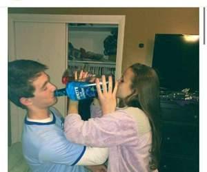 boyfriend, drinks, and fun image