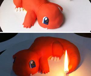 pokemon, cake, and charmander image