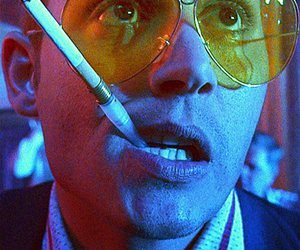 johnny depp, Fear and Loathing in Las Vegas, and cigarette image