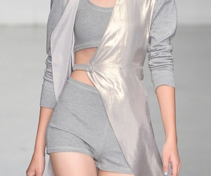 model, pale, and silver image