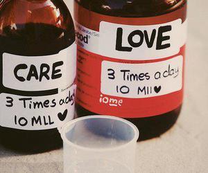 medicine, love, and care image
