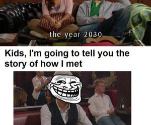how i met your mother, lol, and ted mosby image