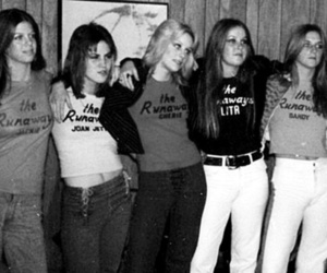 the runaways, joan jett, and Cherie Currie image