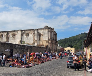 city, guatemala, and antigua image