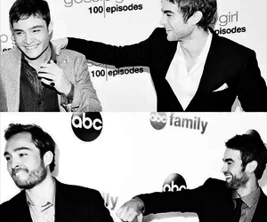 gossip girl, ed westwick, and Chace Crawford image