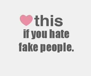 heart, fake, and hate image