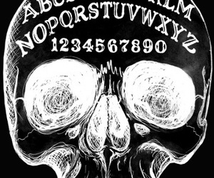 ouija and skull image