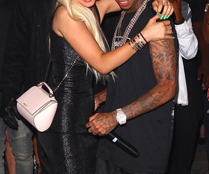 kylie jenner and tyga image