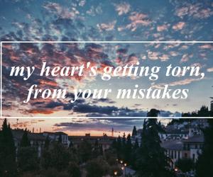 heart, qoutes, and sad image