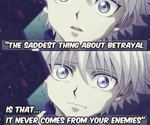 hunter x hunter, anime, and sad image