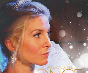 once upon a time, snowqueen, and tv series image