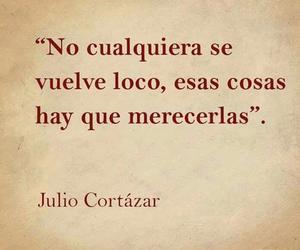 julio cortazar, quotes, and loco image