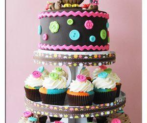 cake, cupcake, and owl image