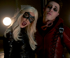 arrow, Arsenal, and Black Canary image