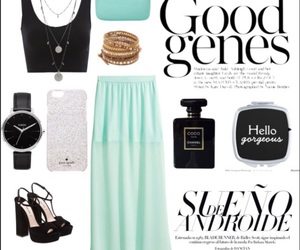 black, ootd, and mint image