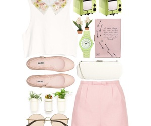 date, pink, and ootd image