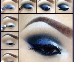 blue and eyeshadow image