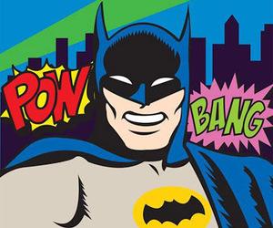 art, batman, and pop art image