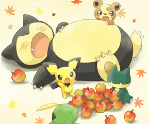 adorable, fruit, and geek image