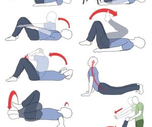 rutina, ejercicio, and fitness image