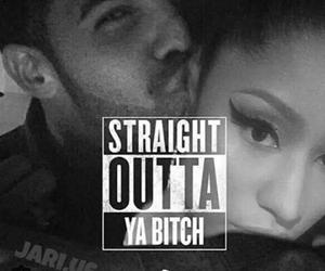 straight outta, boy, and Drake image