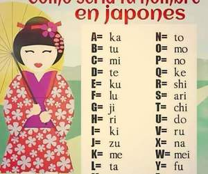 name and japones image