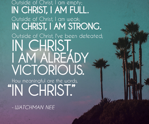 in christ and watchman nee image