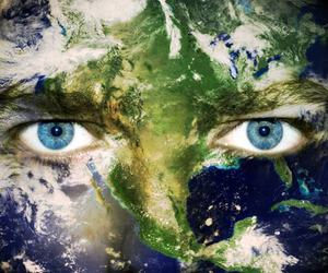 earth, environment, and face image