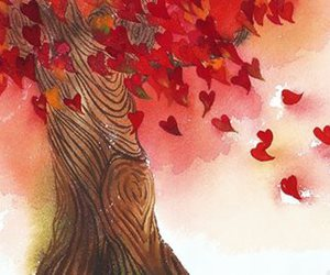 autumn, breezy, and fall image