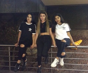 adidas, girl, and friends image